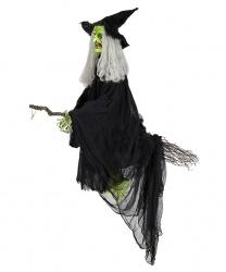 """Декорация на Хэллоуин """"Зеленая ведьма"""" с эффектами"""