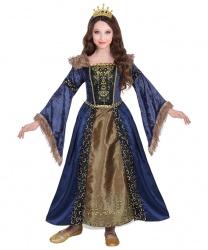 Детский костюм средневековой королевы