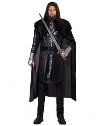 """Мужской средневековый костюм """"Темный рыцарь"""""""