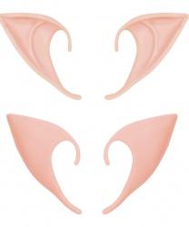 Заостренные латексные уши