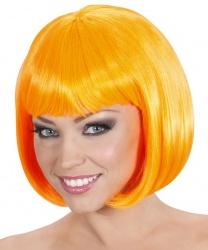 Парик оранжевое каре