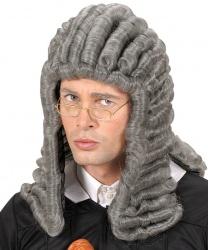 Серый парик судьи