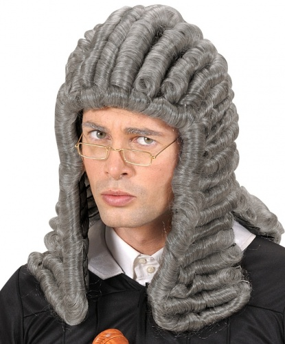 Серый парик судьи: серый (Италия)