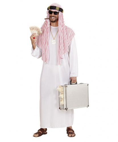 Арабский национальный костюм: головной убор, ряса (Италия)