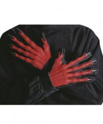 Объемные перчатки дьявола