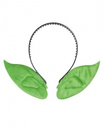 Зеленые ушки на ободке