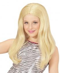 Детский парик блондинки