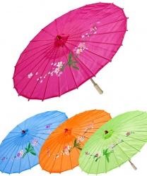 Зонтик в восточном стиле (оранжевый)