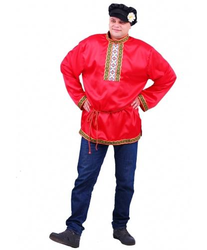 Взрослый костюм Иванушка: рубаха, кепка (Россия)