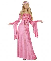 Платье благородной дамы (розовое)