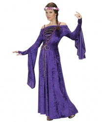 Платье благородной дамы (фиолетовое)