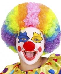 Разноцветный парик клоуна (детский)
