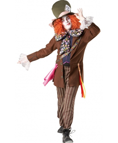 Сумасшедший шляпник: бабочка, пиджак, укороченные брюки, шляпа с искусственными волосами (Германия)