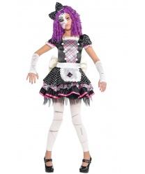 Детский костюм сломанной куклы