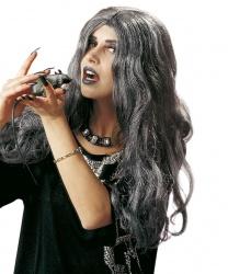 Серый парик на Хэллоуин