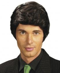 Мужской парик брюнета