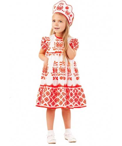 Костюм Алёнушки: платье, кокошник (Россия)