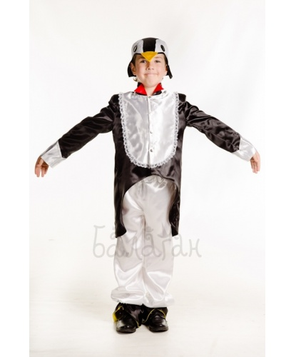 Костюм пингвина: фрак, брюки, шапочка (Украина)