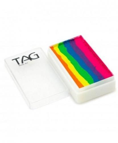 Аквагрим TAG фиолетовый, оранжевый, розовый, желтый, зеленый, синий, шайба 30 гр (Австралия)