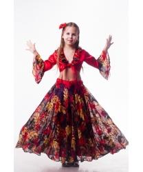 Детский костюм цыганочки (Осень)