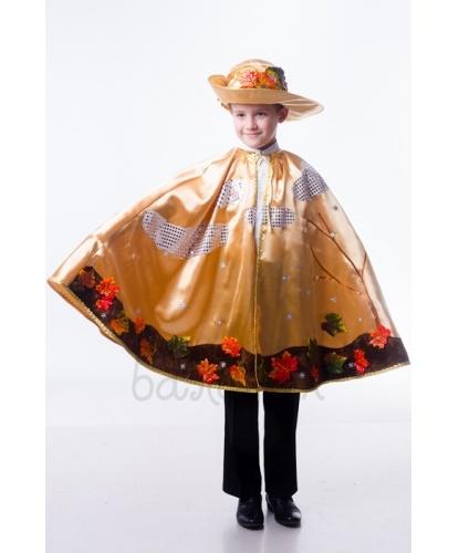 Детский костюм Ноябрь: накидка, головной убор (Украина)