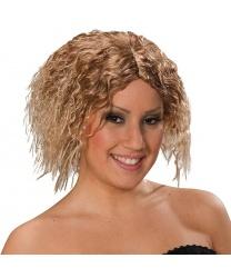 Парик блондинки с волнистыми волосами
