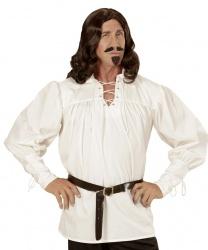 Белая средневековая рубашка