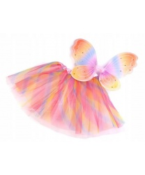 Набор разноцветной бабочки