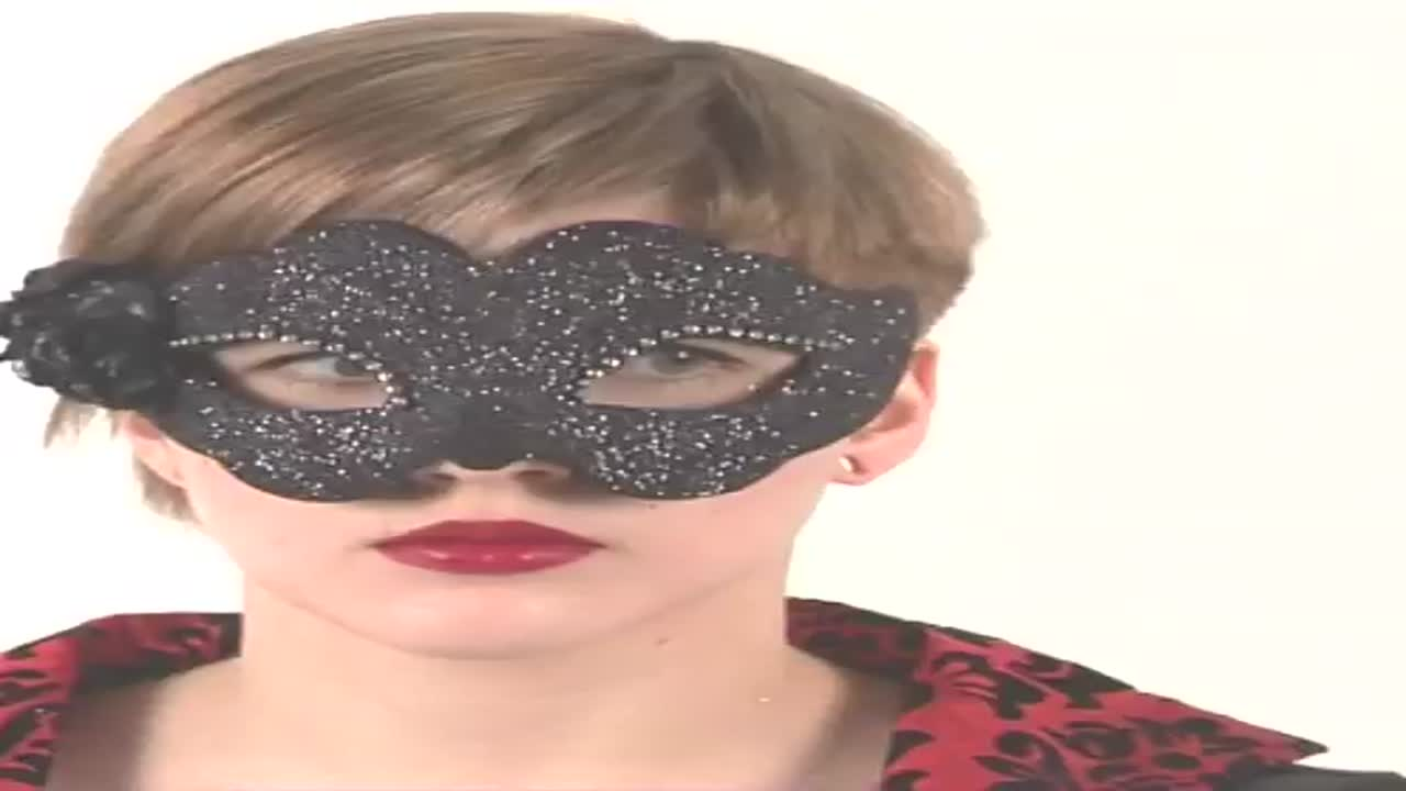 Черная маска  Fiore