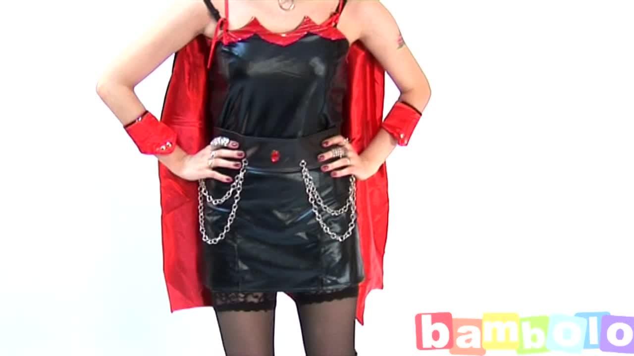 Эротический костюм вампирши
