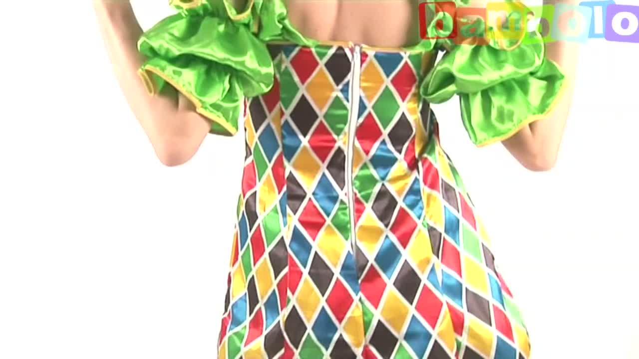 Женский костюм клоуна