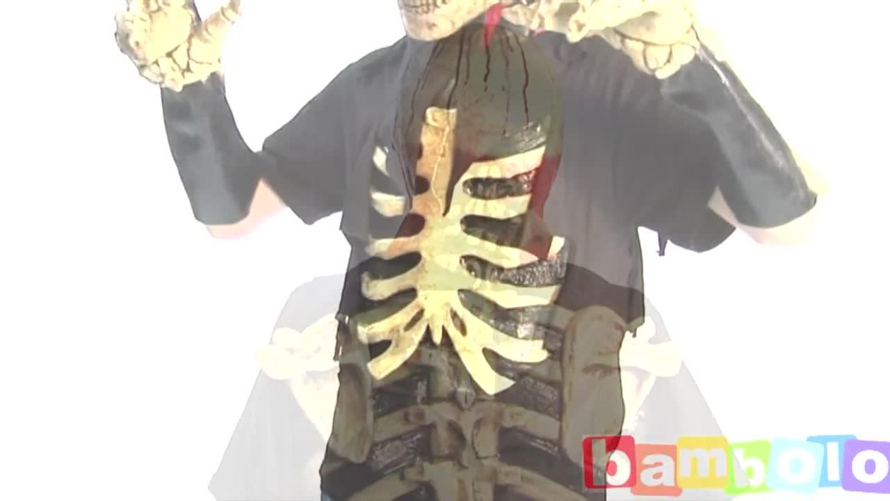 Скелет латексный
