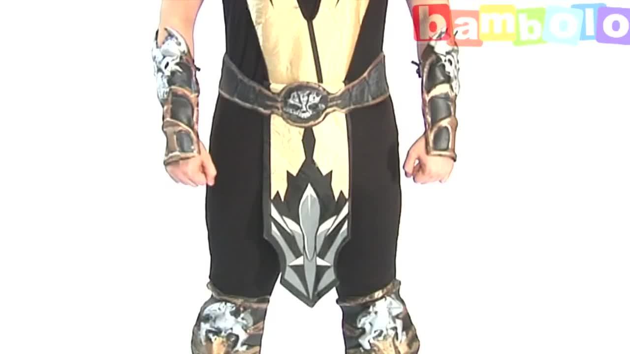 Костюм Scorpion Mortal Combat