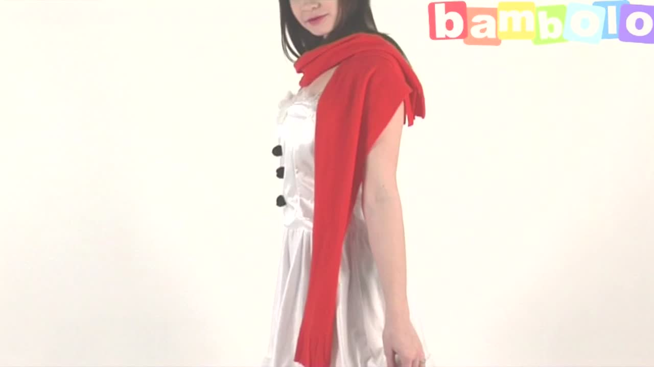 Костюм (платье) снеговика женский