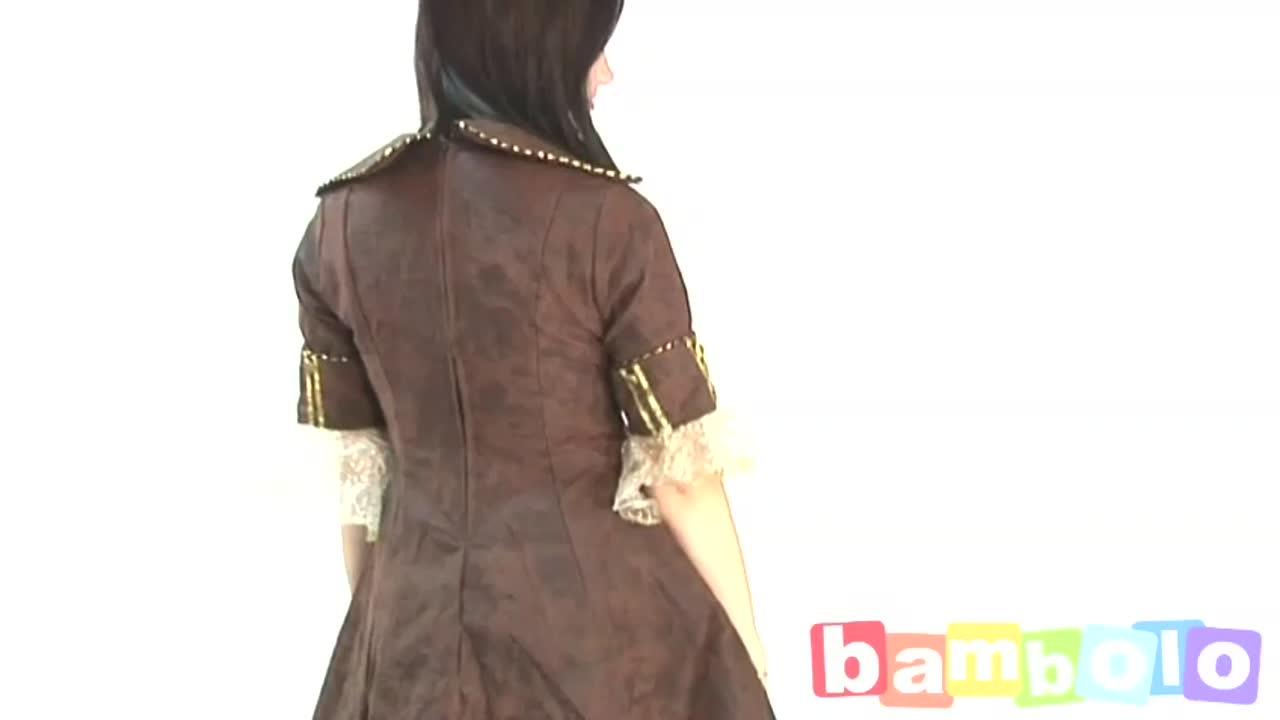 Платье буканьерки