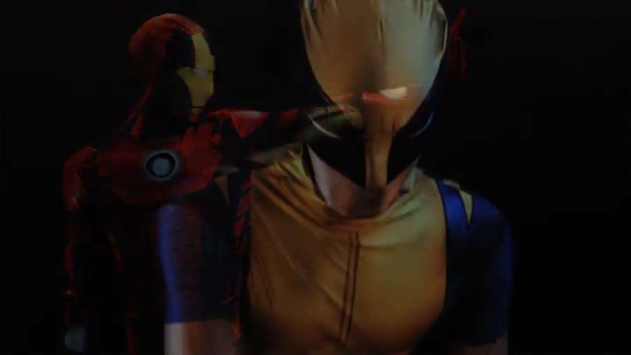 Интерактивный костюм человека паука