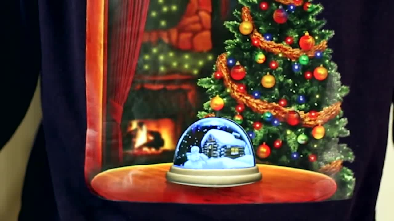 Веселая кофта на Рождество