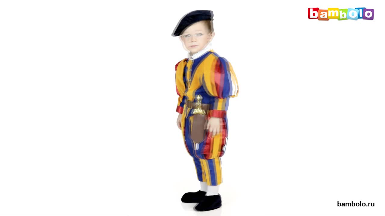 Костюм швейцарского гвардейца Ватикана