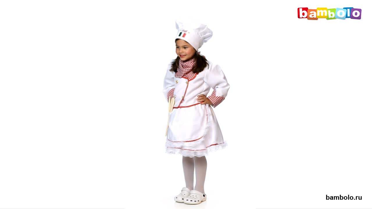 Костюм девочки-поваренка