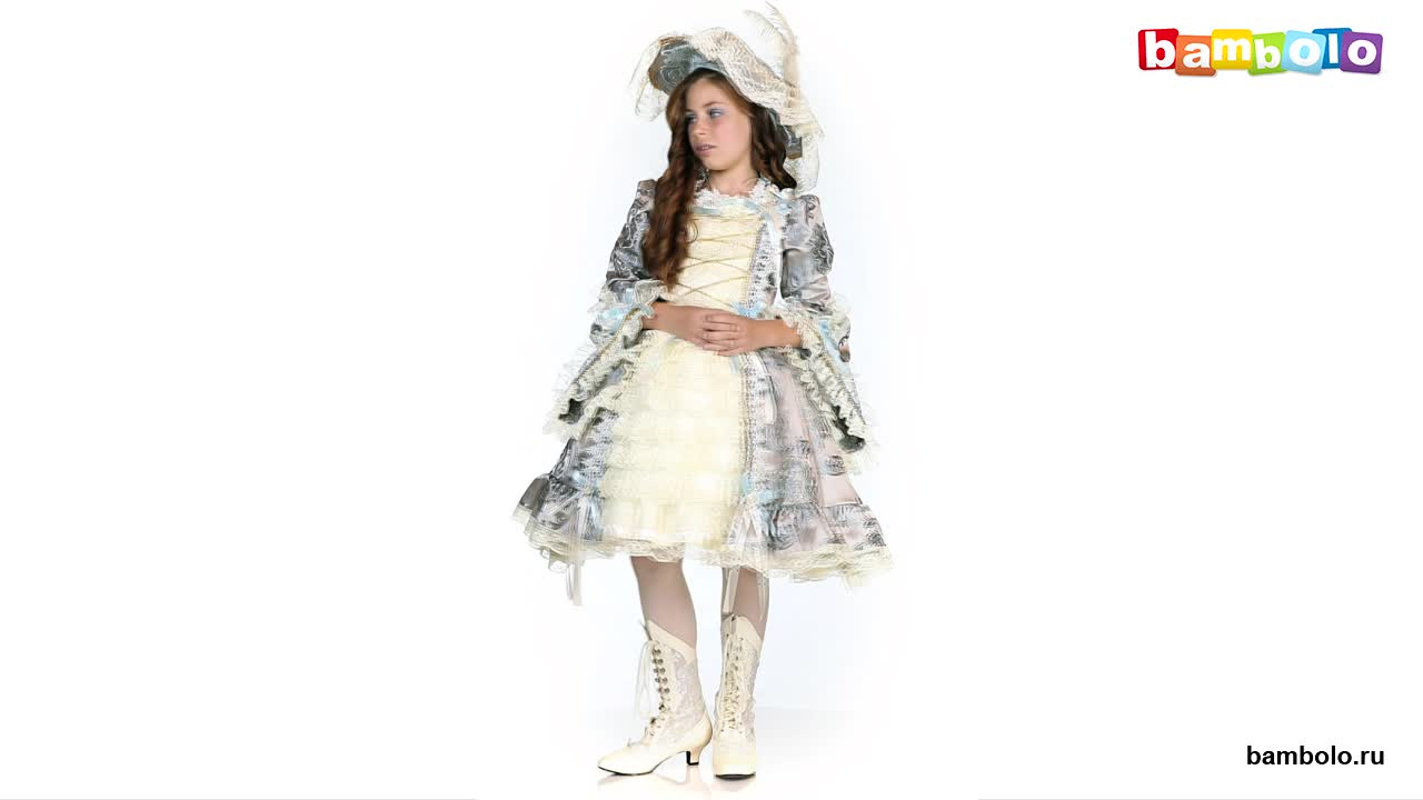 Детский карнавальный костюм Королева Мария-Антуанетта